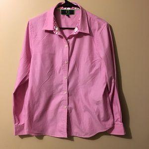 EUC c Wonder size Xl classic fit pink shirt